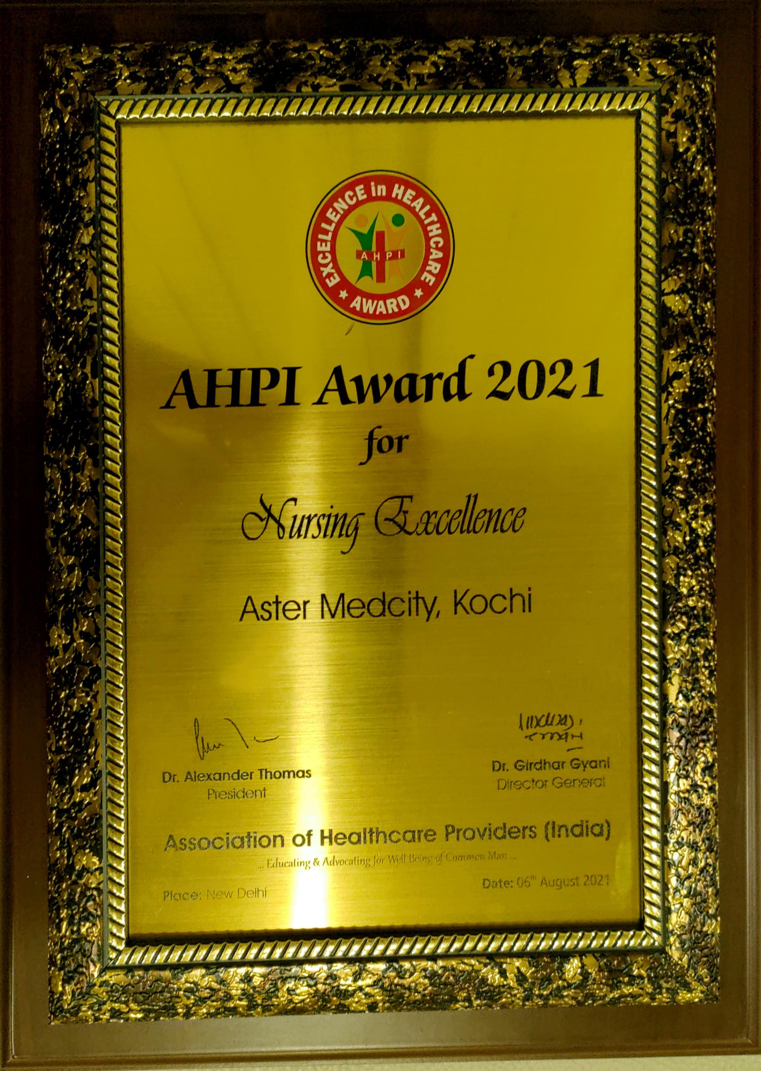 AHP Nursing