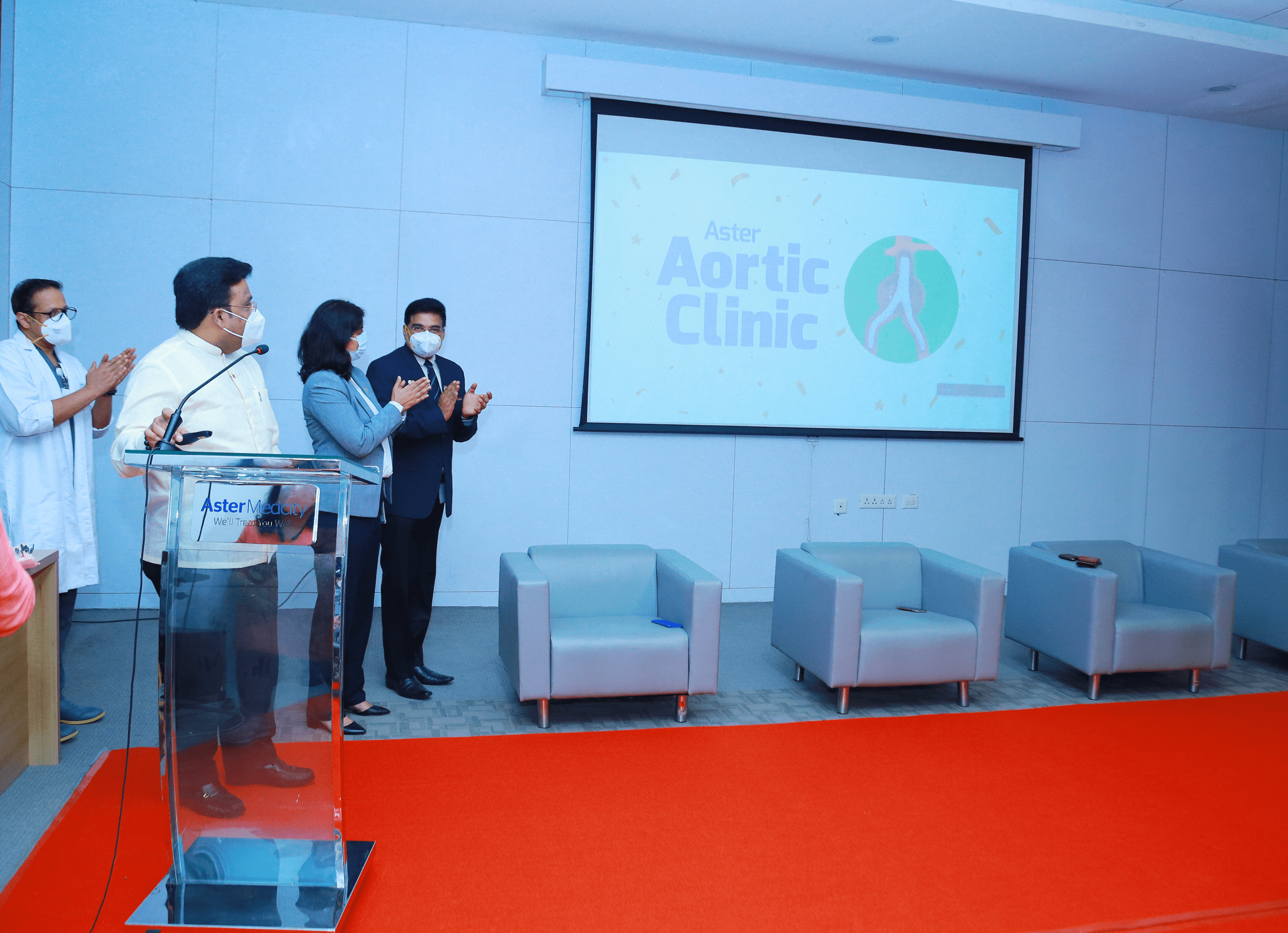 Aster Medcity launches Aortic clinic 2 min