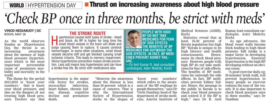 Deccan_Chronicle_pg4_-_World_Hyper_Tension_Day_-_Dr_Anilkumar__Cardiology