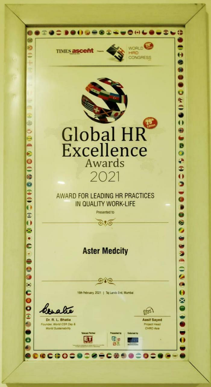 GLOBAL HR EXCELLENCE 2021