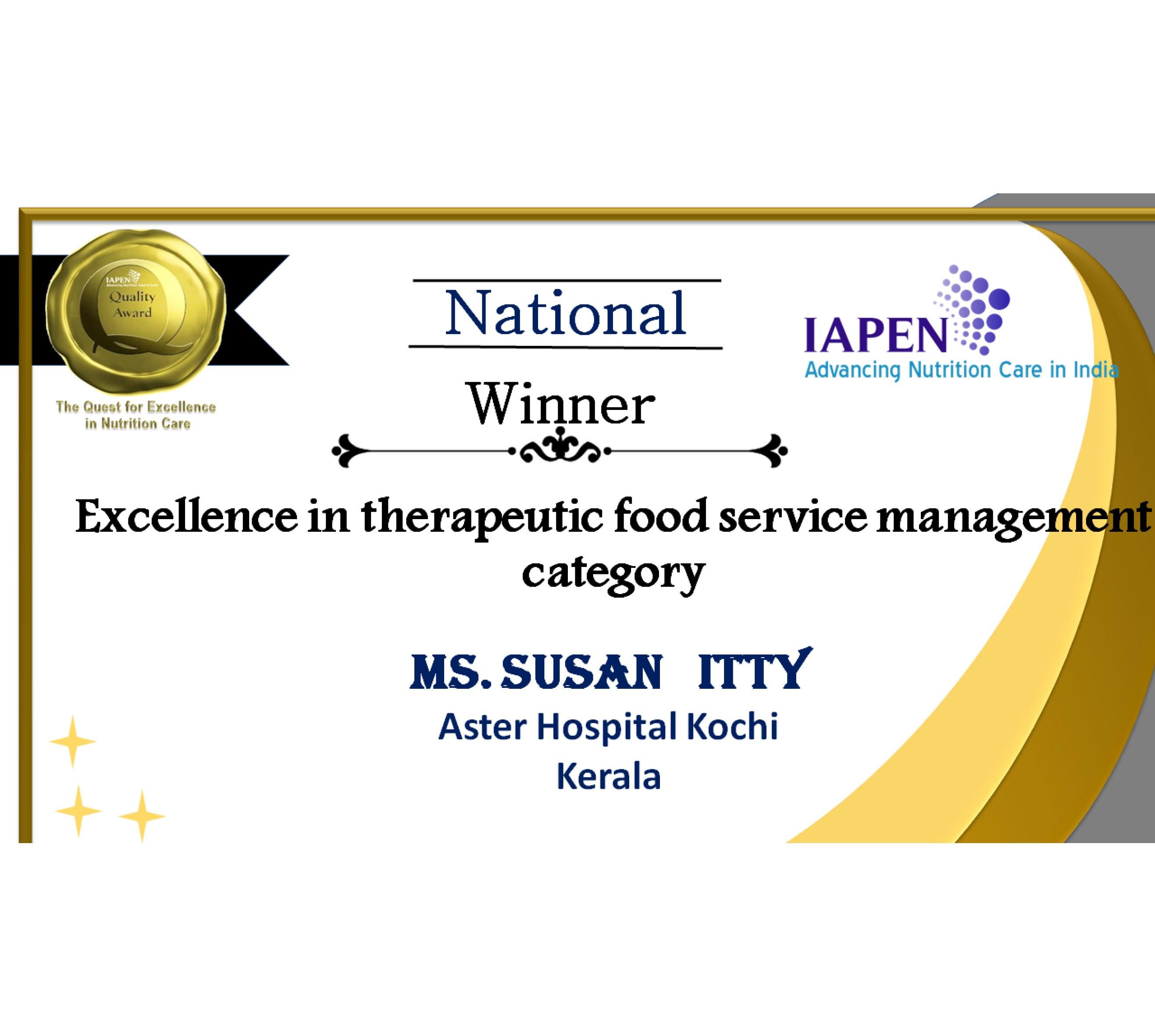 Awardnew10 national winner