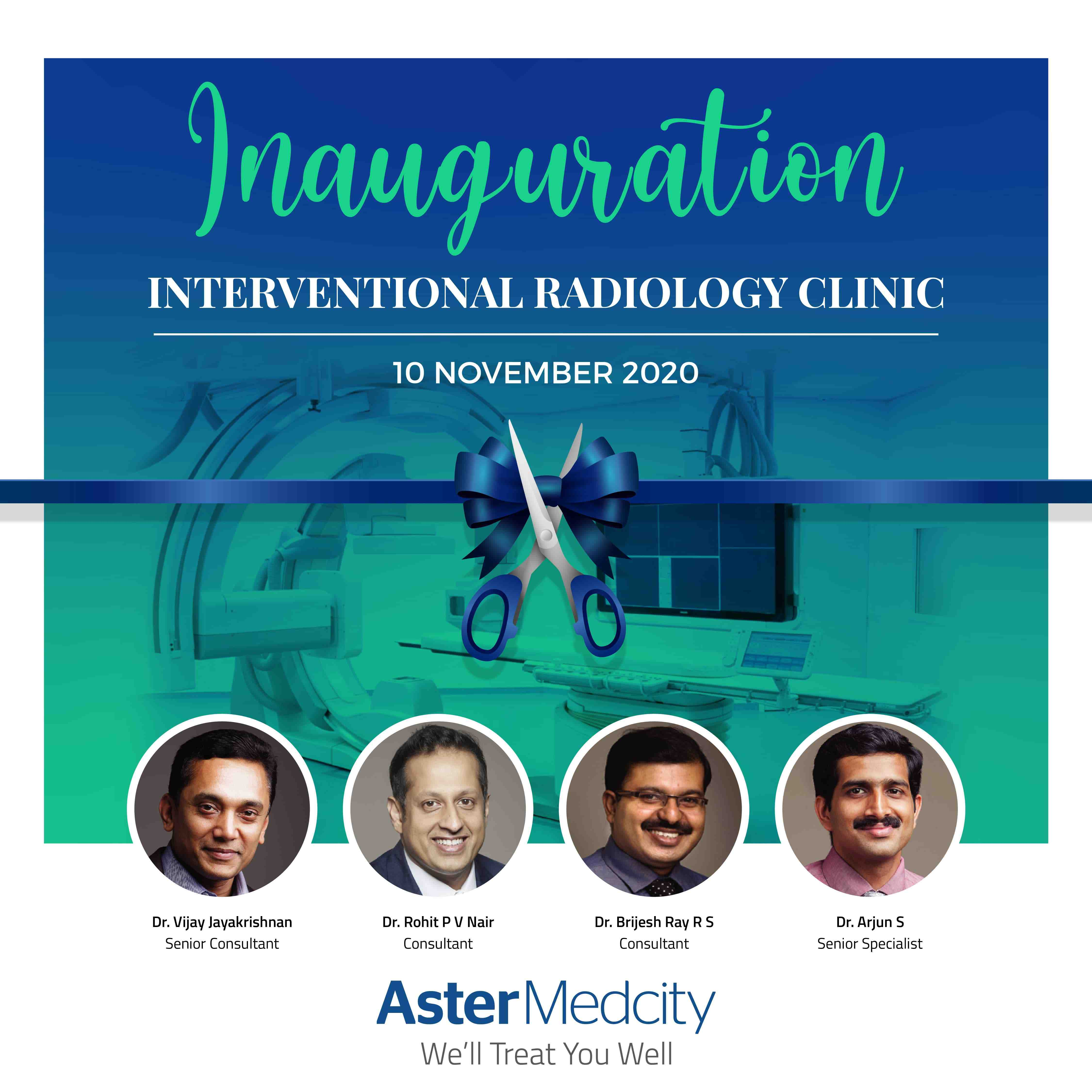 Intervention Radiology Clinic Inauguration INSTAGRAM