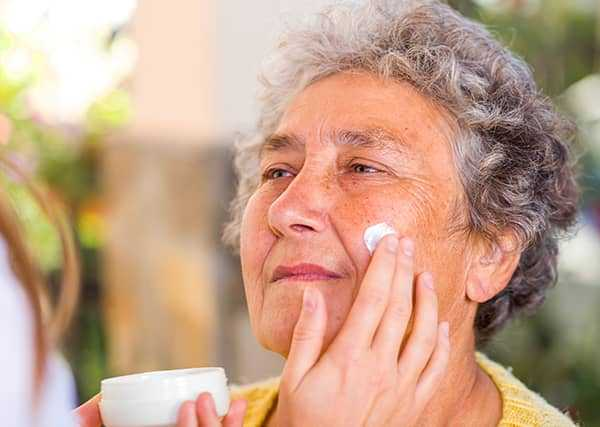 Skin Care Elderly Women blog