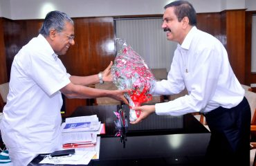 Kerala Mr.-Pinarayi-Vijayan-at-his-office-today
