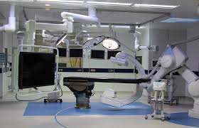 Advanced hybrid cath lab to perfrom neuro intervention